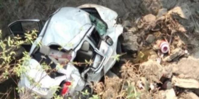 सड़क दुर्घटना में तीन पर्यटकों की मौत