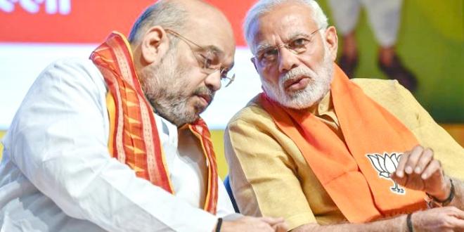 सपा-बसपा पर तंज़ : हमने सभी दलों को किया है एकत्रित : शाह