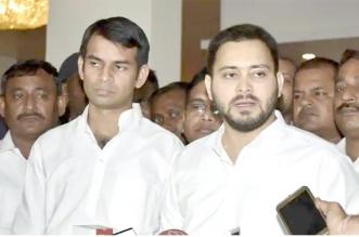 बिहार में सीट शेयरिंग की जानकारी जल्द दी जायेगी : तेजस्वी यादव