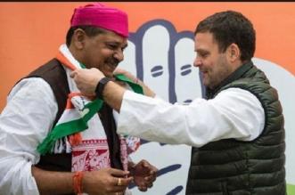 भाजपा से कीर्ति 'आजाद', कांग्रेस में हुए शामिल