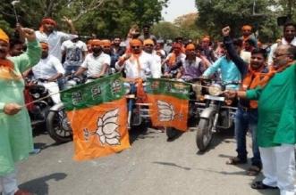 एक करोड़ मोटरसाइकिलों पर निकलेंगे भाजपा कार्यकर्ता