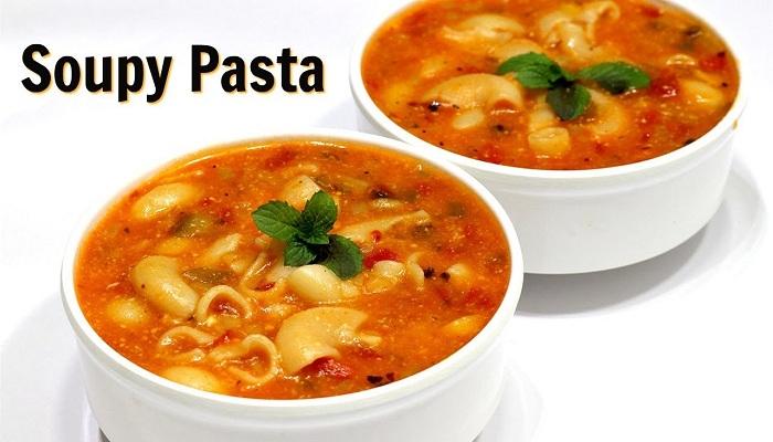 'सूपी पास्ता'
