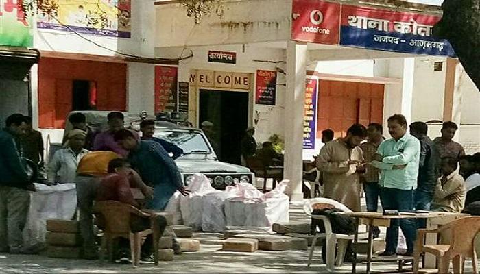 STF ने आजमगढ़ से पकड़े चार तस्कर, बरामद किया एक करोड़ 30 लाख का गांजा
