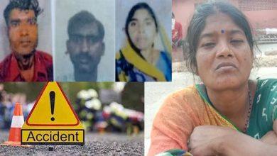 सड़क हादसे में 3 मजदूर की मौत