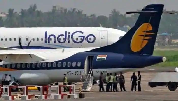 इंडिगो फ्लाइट की भोपाल में आपात लैंडिग IndiGo flight's emergency landing in Bhopal