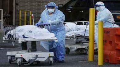 अमेरिका में 24 घंटों में 2000 मौत