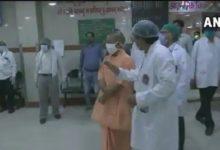 डॉ. श्यामा प्रसाद मुखर्जी अस्पताल लखनऊ का औचक