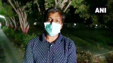 कोविड-19 पॉजिटिव पत्रकार की मौत