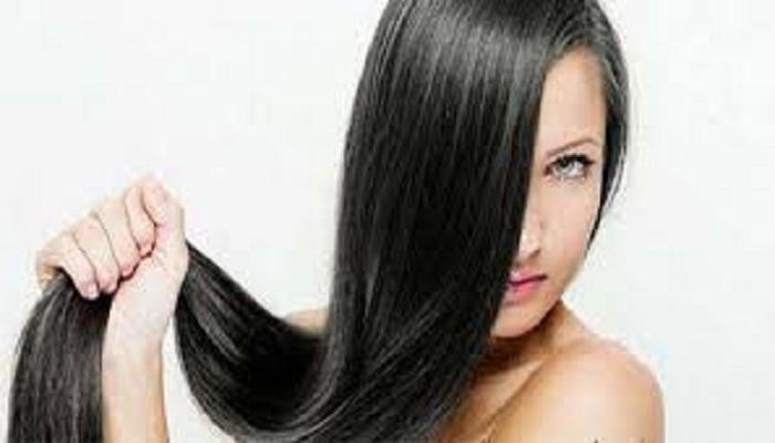 लम्बे और काले घने बाल