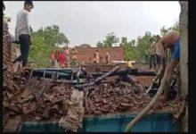 महोबा में आई तबाही की आंधी