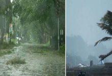बंगाल में तूफान