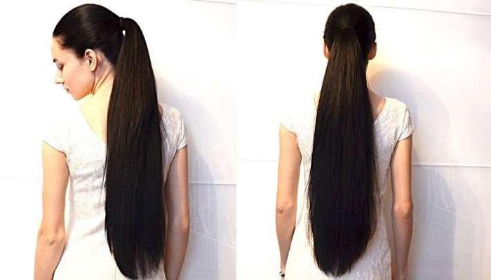 बाल लम्बे और मजबूत