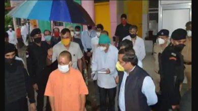 अयोध्या दौरे पर पहुंचे सीएम योगी