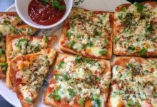 bread suji pizza