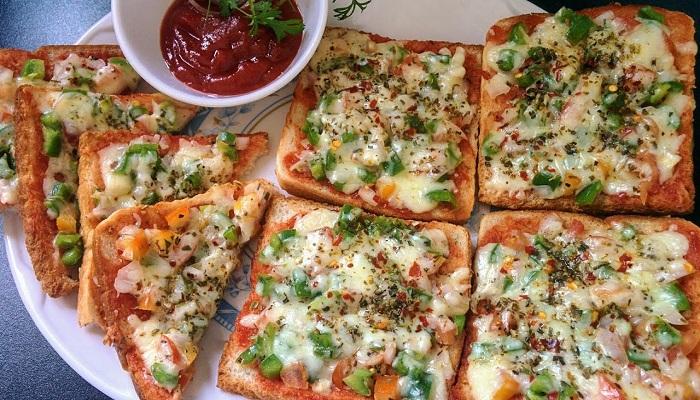 bread suji pizza