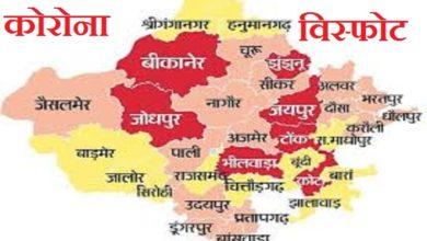 राजस्थान में कोरोना
