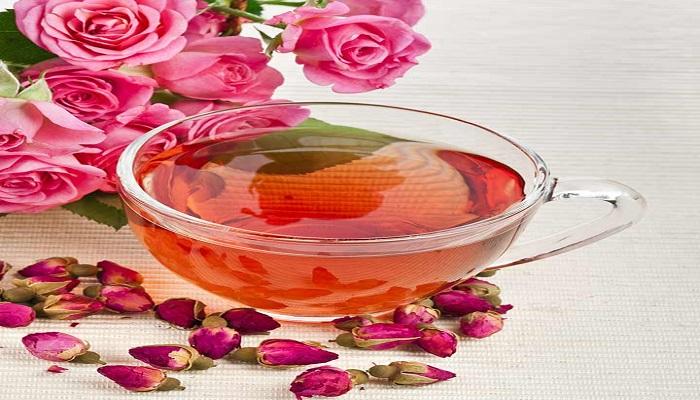 गुलाब की चाय