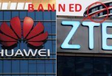 Huawei और ZTE पर बैन