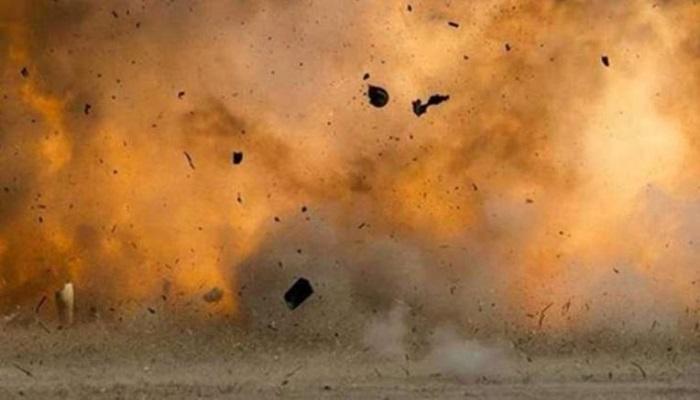 दवा गोदाम में विस्फोट