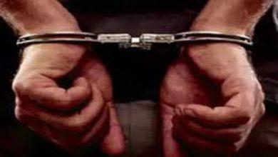 इनामी बदमाश गिरफ्तार