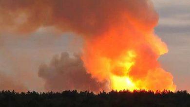 रेल पहिया कारखाने में विस्फोट