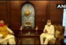 राज्यपाल से मिले राजस्थान के सीएम गहलोत