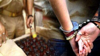 अवैध शराब बरामद