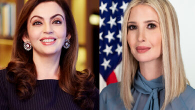 Nita Ambani and Ivanka Trump