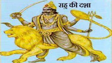 राहु की दशा
