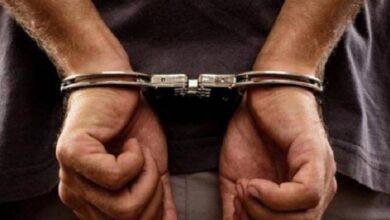 पंचायत अध्यक्ष पति गिरफ्तार