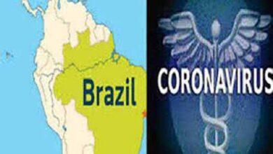 ब्राजील में कोरोना