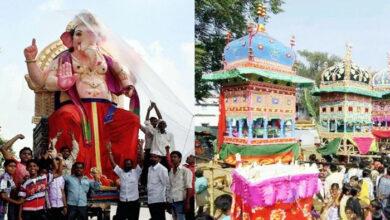 Ganesh Chaturthi Muharram procession banned