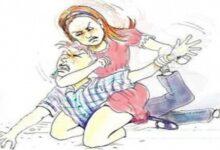 पति की पिटाई