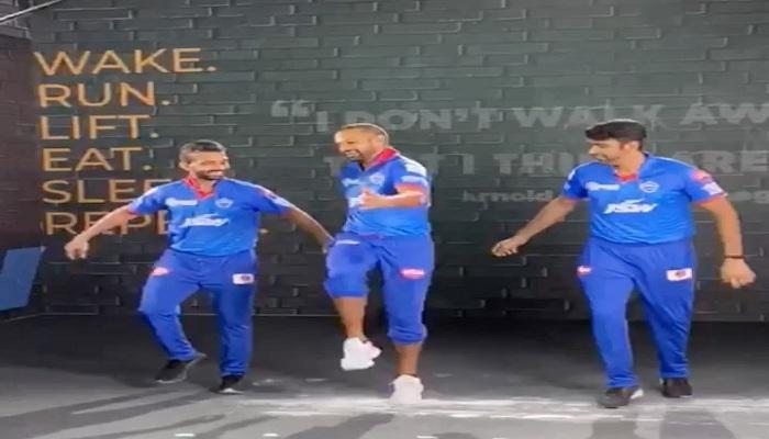 Shikhar Dhawan Punjabi dance