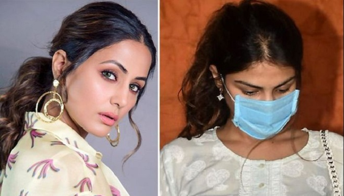 Hina Khan Rhea Chakraborty