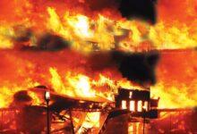 सॉफ्टवेयर ऑफिस में लगी आग