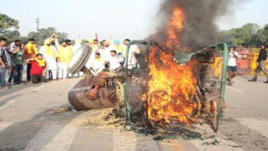 Delhi Protest farm law