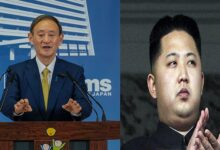 प्रधानमंत्री सुगा -किम जोंग