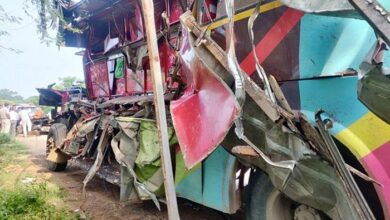 7 laborers died in road accident