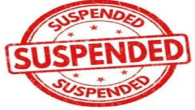 लेखपाल को डीएम ने किया सस्पेंड DM suspended Lekhpal