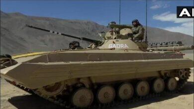 LAC पर तैनात किए विध्वंसक टैंक destroyer tank deployed on LAC