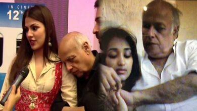 Mahesh Bhatt Rhea Chakraborty Video