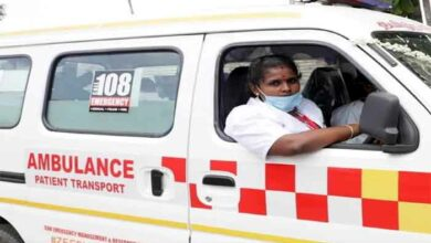 M Veeralakshmi became the first female driver in the country in Tamil Nadu