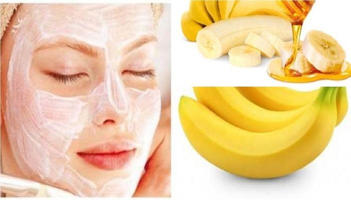 ripe banana for skin