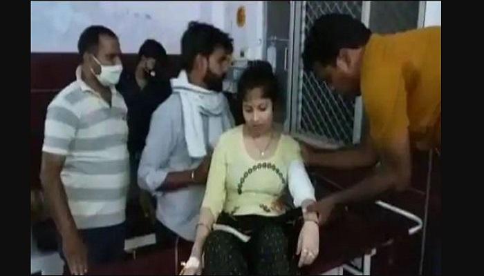 बेटी-दामाद को गोली मारी shot daughter-in-law