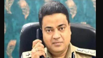 एसएसपी अभिषेक दीक्षित सस्पेंड SSP Abhishek Dixit Suspended