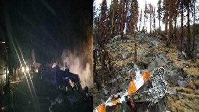 सैन्य विमान दुर्घटनाग्रस्त
