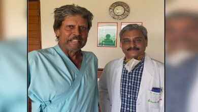 पूर्व क्रिकेटर कपिल देव अस्पताल से डिस्चार्ज Kapil Dev discharged from hospital