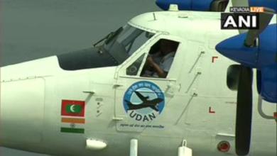 पीएम मोदी ने सी-प्लेन सेवा से भरी उड़ान PM Modi flies by sea plane from Kevadia to Sabarmati