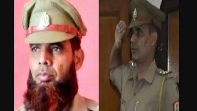 सब इंस्पेक्टर इंतसार अली का निलंबन वापस Sub Inspector intasaar Ali's suspension back
